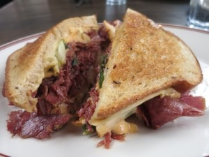 Food Travelist Girl and the Goat Rueben Sandwich