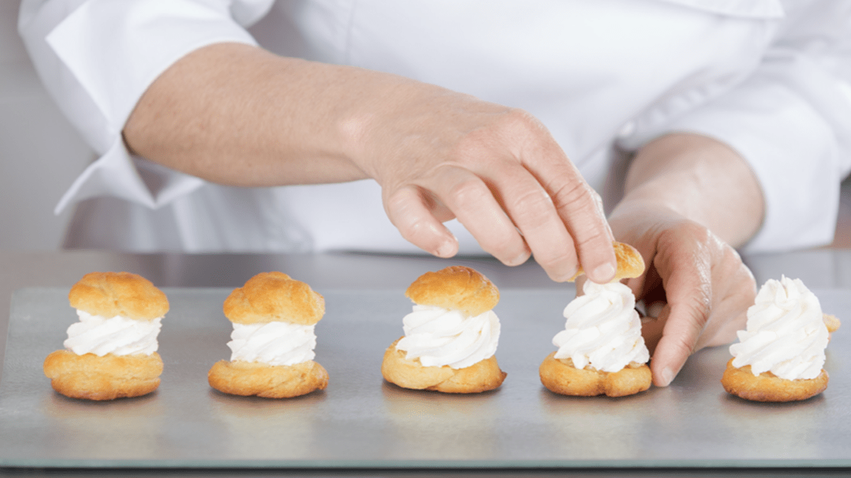 Choux Pastry Recipe Is Good For Plain Cream Puffs Too