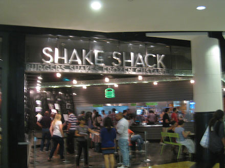 Food Travelist Dubai Mall Shake Shack