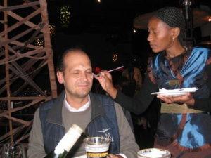 Food Travelist Fun Johannesburg Dinner Face Painting