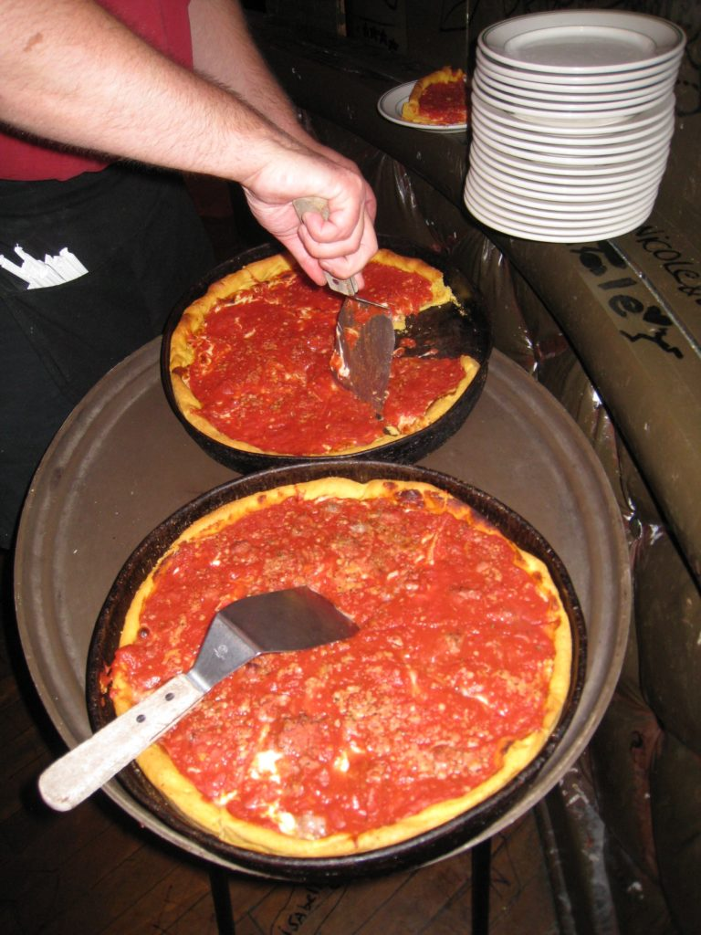Gino's East Chicago style Deep Dish Pizza Jon Porter The Pizza Pro