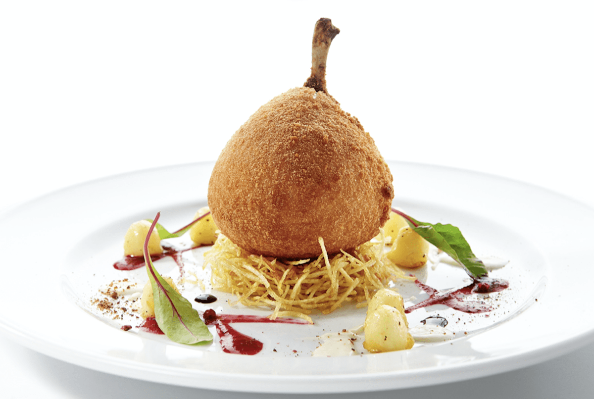 Some Recipes For Chicken Kiev Include French Bone Presentation