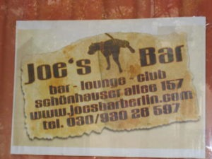 Food Travelist Plentiful Prenzlauer Berg Berlin Joes Bar