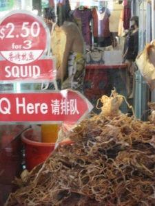 Food Travelist Singapore Shopping Squid