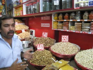 Food Travelist Spicy Delhi India Spice Vendor