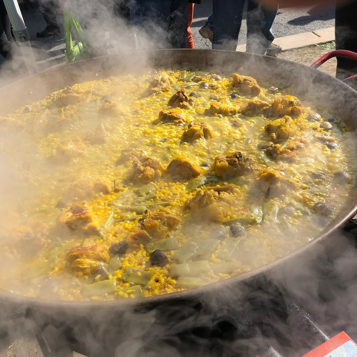 Paella In DC Is Cooking Eat Well