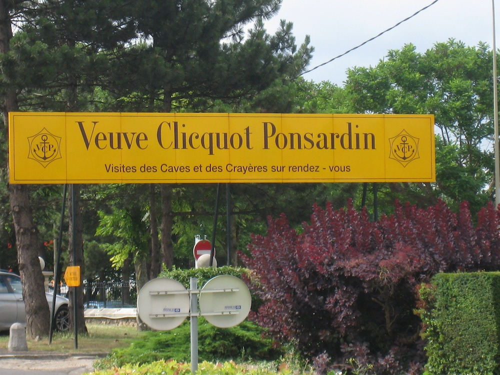 Veuve Clicquot Ponsardin in France