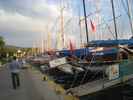 Food Travelist Boating In Bodrum Gulets