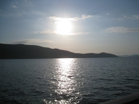 Food Travelist Boating In Bodrum Sunset