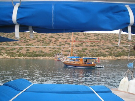 Food Travelist Boating In Bodrum Swim And Lounge