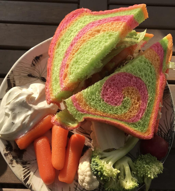 Rainbow Bread from Kings Hawaiian
