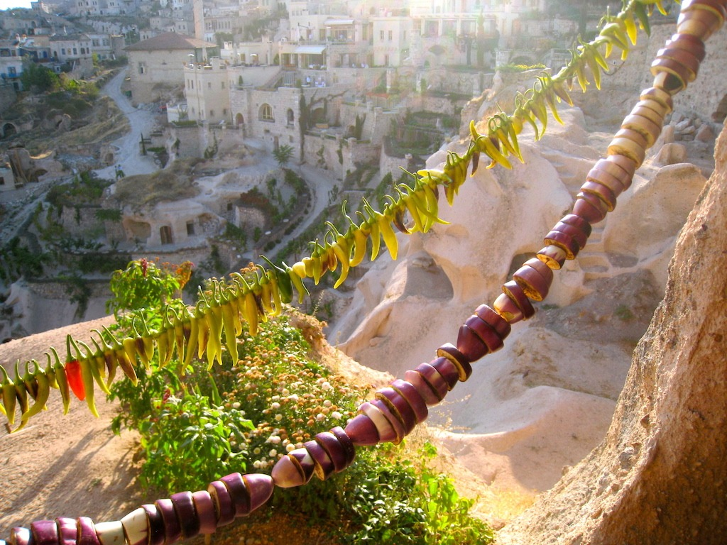 Cappadocia Veggie Drying