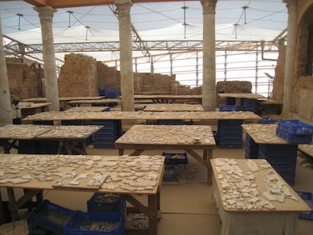 Food Travelist A Huge Job Ephesus Excavation and Reconstruction