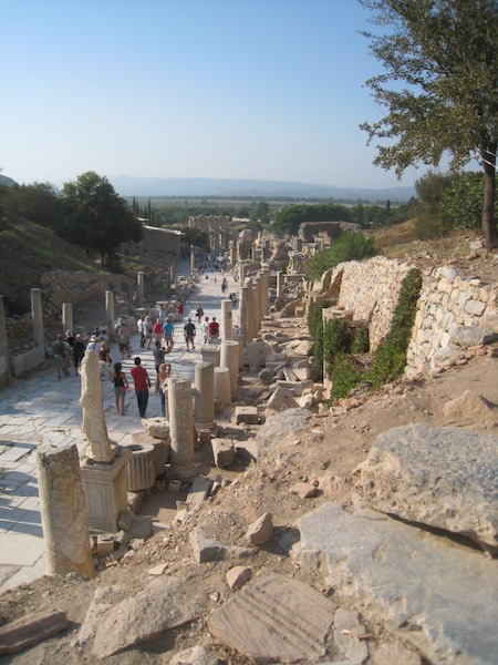 Food Travelist Ephesus Largest Excavation In The World
