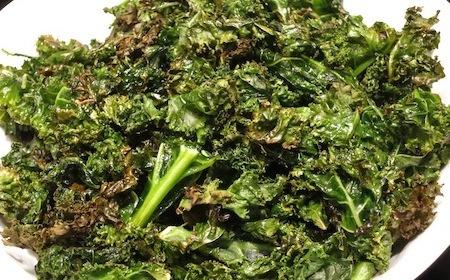 Food Travelist Crispy Kale Chips