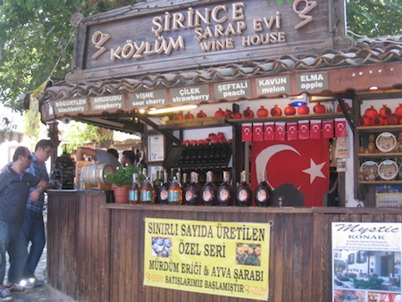 Food Travelist Wine Stand Near Ephesus