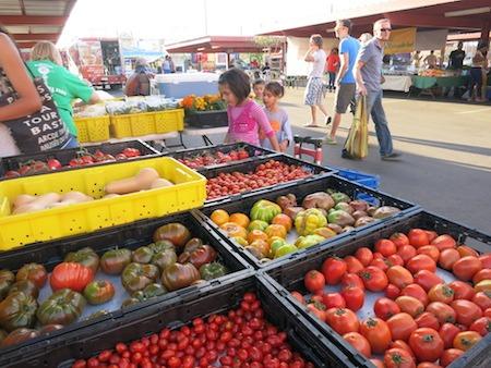 Fresh Produce At Phoenix Public Market