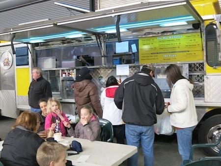 Food Trucks at Detroit's Eastern Market