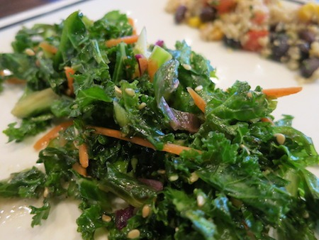 Corner Bakery Cafe Toasted Sesame Kale Salad