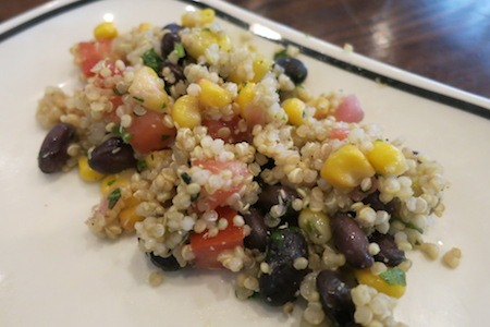 Corner Bakery Cafe Quinoa And Pico Salad