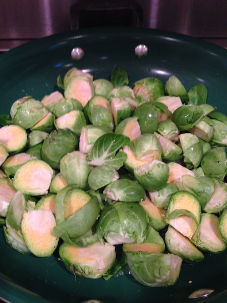 Food Travelist Cut Fresh Brussels Sprouts