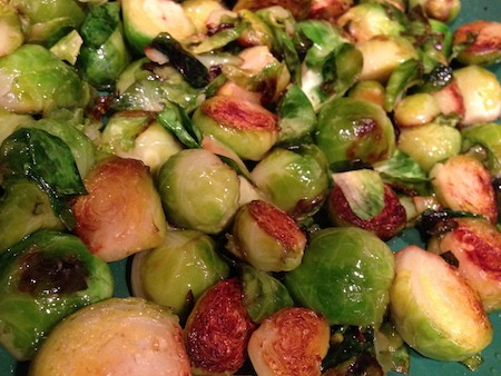 Food Travelist Delicious Sauteed Brussels Sprouts