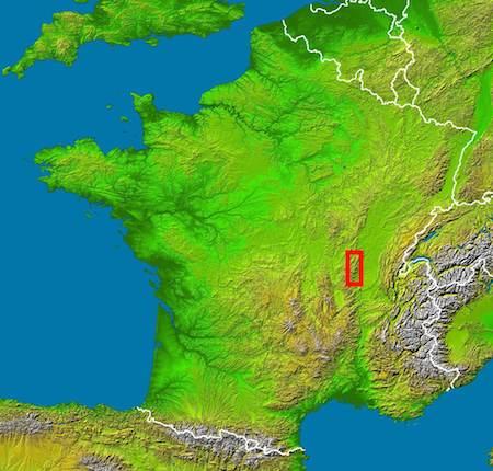 Food Travelist Location Of Beaujolais Region In France