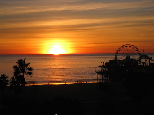 Food Travelist View of Santa Monica Pier