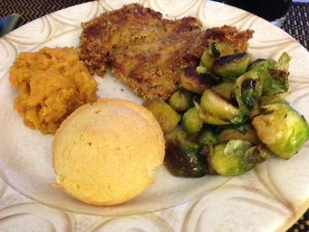 Food Travelist Oven Fried Chicken With Corn Muffin