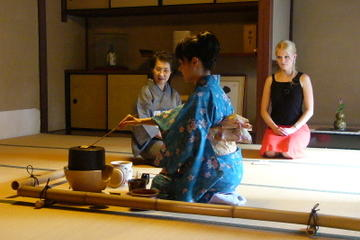 Japanese Tea Cermony with Tea Master in Kyoto