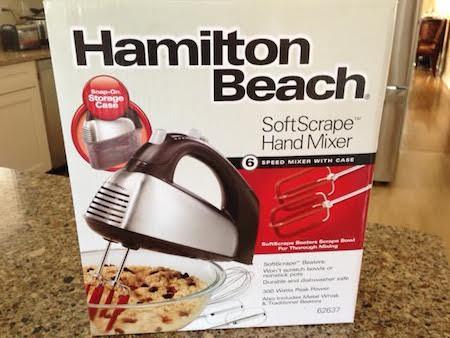 Hamilton Beach SoftScrape Hand Mixer
