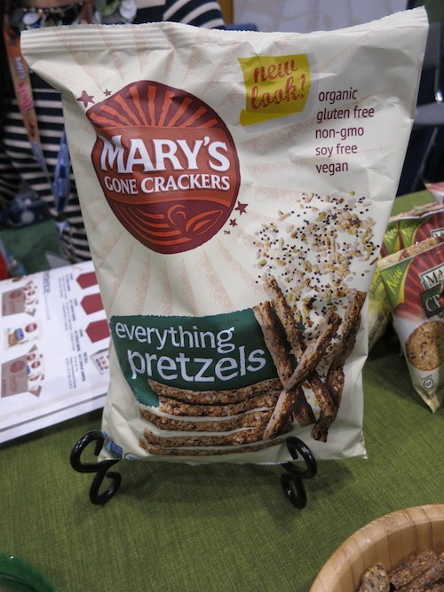 Mary's Gone Crackers Everything Pretzel