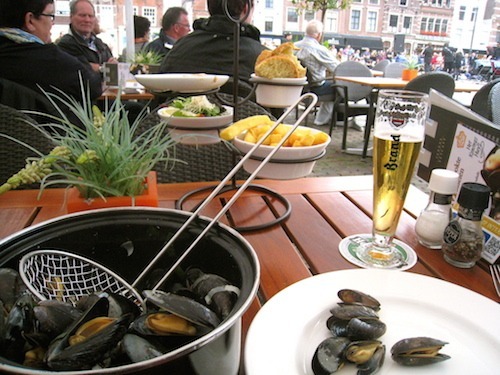 Al Fresco Mussels in Delft
