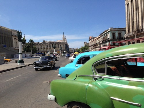 Habana Centro Busy Day
