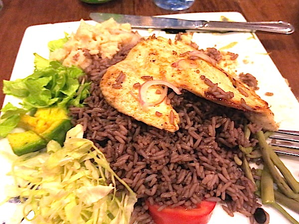 Moro with Chicken Breast