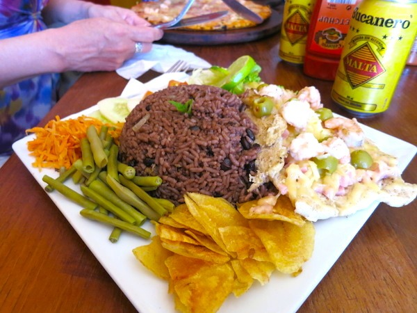 Moro with Fish and Shrimp Cuban rice