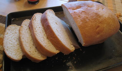 Homemade Soft Bread Loaf