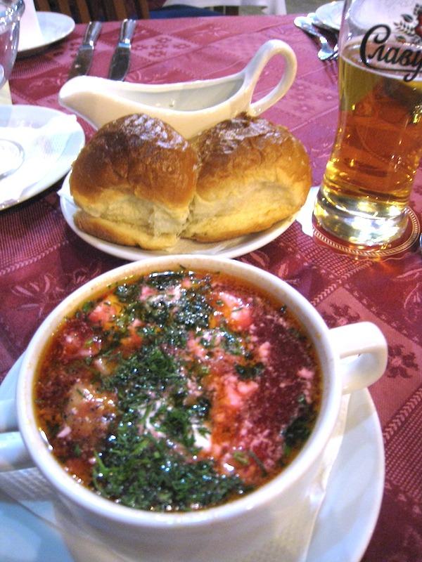 Beet Soup also known as Borscht