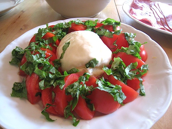 Burrata Cheese from Puglia Italy