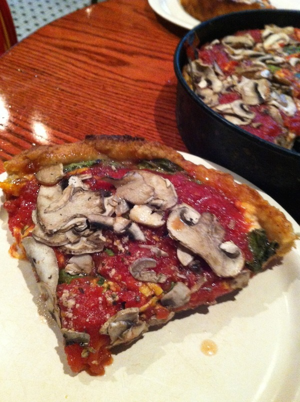 Chicago Deep Dish Pizza from Pizzeria Uno