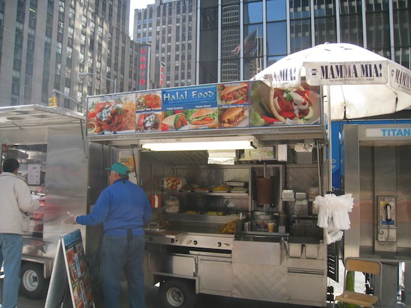 Street Food Around The World New York City Halal Food Truck