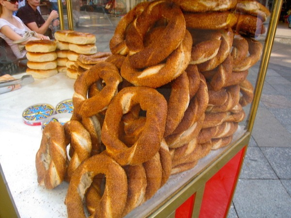 Street Food Around The World Simit in Instanbul