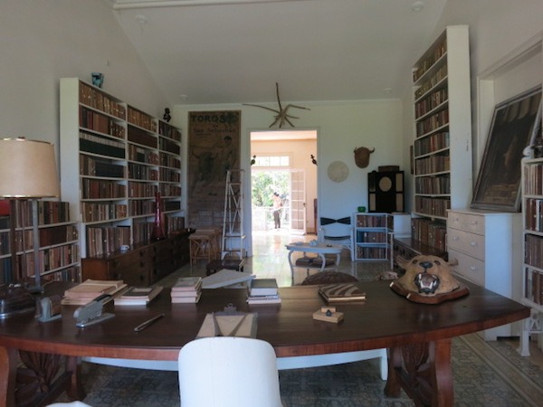 Hemmingways Office Outside Havana