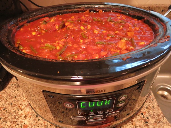 Set it and forget it Slow Cooker Chili