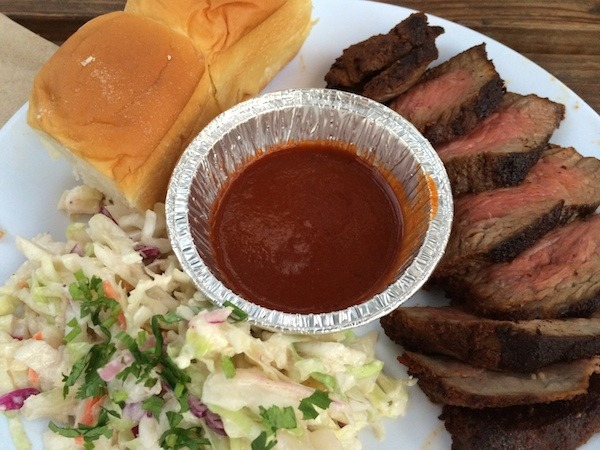 Tri Tip Platter from Bray at the San Pedro Public Market