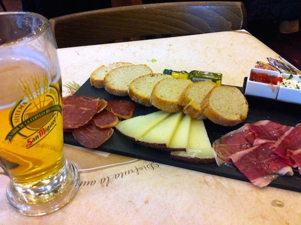 Tapas and Cerveza