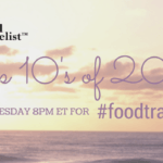 Top Tens of 2014 on #foodtravelchat