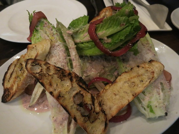 San Jose Eats and treats Arcadia Black Olive Caesar Salad