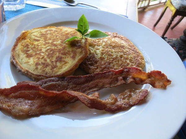 Delicious Pumpkin Pancakes at the Hermitage Plantation