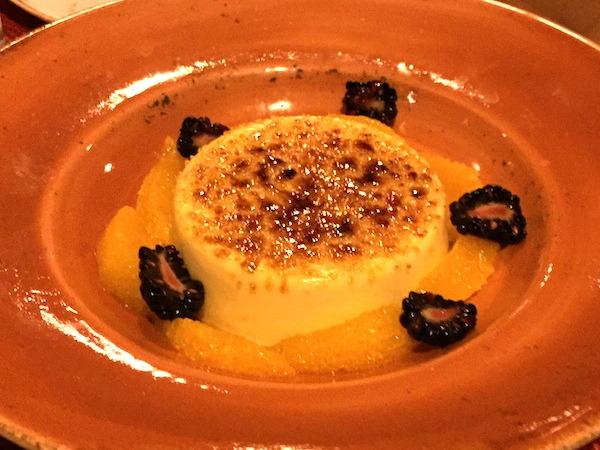 Delicious Crema Catalana Dessert